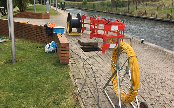 Fibre Cable Installation