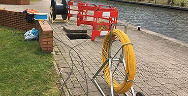 Cabling Pulling<