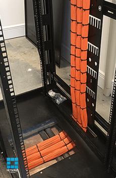 Cable Dressing Data Cabinet